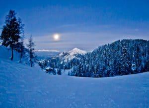 Slovenia winter
