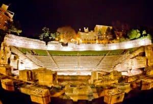 Roman theater, Trieste