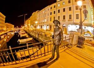 James Joyce statue, Trieste
