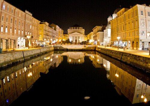 Grand Canal Trieste