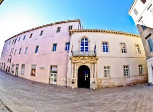 Zadar Croatia - Duke's Palace