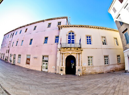 Zadar Croatia - Duke's Palace