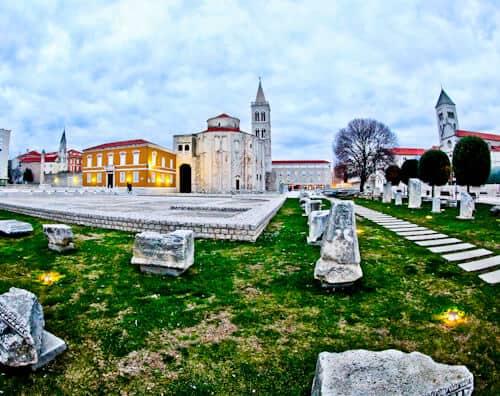 Roman Forum adar Croatia
