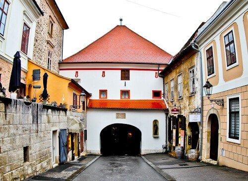 Upper Town, Zagreb Croatia