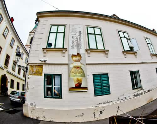 Museum of Broken Relationships, Zagreb Croatia