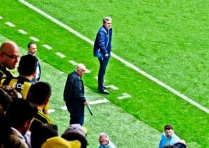 Fenerbahce - matchday experience - Sukru Saracoglu Stadium - Istanbul - managers and player dugouts