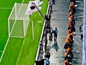 Fenerbahce - matchday experience - Sukru Saracoglu Stadium - Istanbul - stadium panoramic - cameraman and stadium security