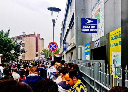 Fenerbahce - matchday experience - Sukru Saracoglu Stadium - Istanbul - how to watch a football match in Turkey