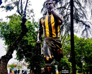 Fenerbahce - matchday experience - Sukru Saracoglu Stadium - Istanbul Alex De Souza statue