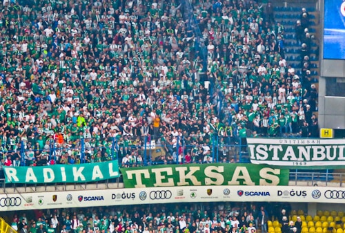 Fenerbahce - matchday experience - Sukru Saracoglu Stadium - Istanbul - Bursaspor away fans