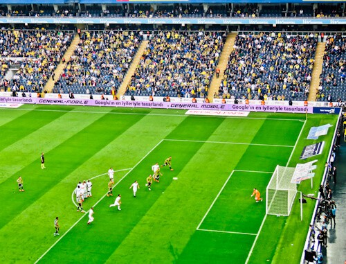 Fenerbahce - matchday experience - Sukru Saracoglu Stadium - Istanbul - Fenerbahce Live