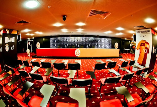 Galatasaray - Stadium Tour - Turk Telekom Stadium - media / press room