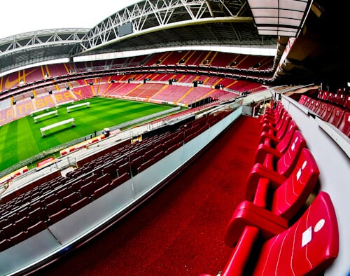 Galatasaray - Stadium Tour - Turk Telekom Stadium - VIP seats and presidential suite
