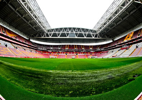 Galatasaray - Stadium Tour - Turk Telekom Stadium - Behind the goalmouth