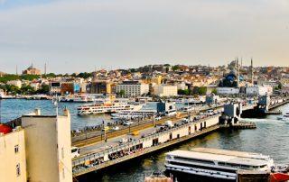 Istanbul Hotels - Hotel Momento Golden Horn - breakfast terrace view