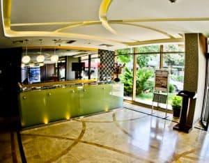 Ankara Hotel - Niza Park Hotel - reception and check in