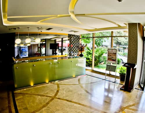 Ankara Hotel - Niza Park Hotel - reception and check in