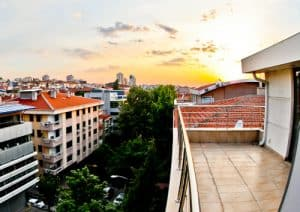 Ankara Hotel - Niza Park Hotel - balcony room and view
