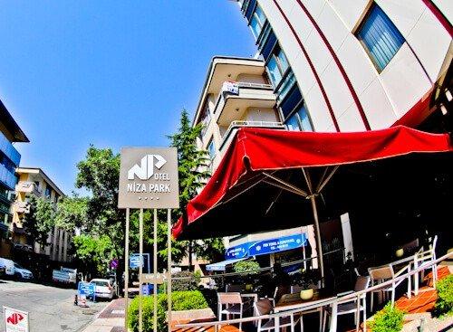 Ankara Hotel - Niza Park Hotel - Location