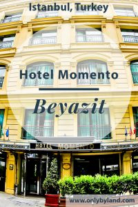 Istanbul Hotel - Hotel Momento Beyazit is located close to the Grand Bazaar in Istanbul. It has modern rooms and a delicious complimentary buffet breakfast.