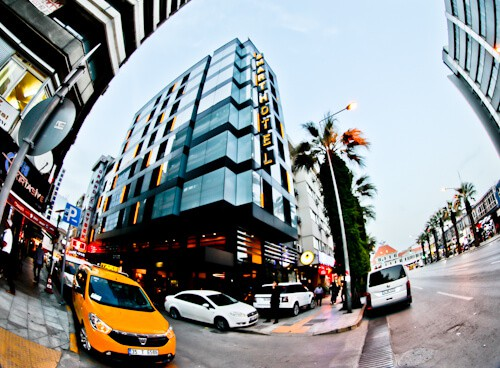 Izmir Hotel - Smart Hotel - location