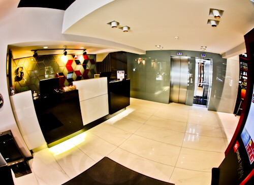 Izmir Hotel - Smart Hotel - check in - reception