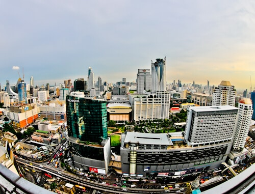 Bangkok Hotels - Amari Watergate Hotel - Pratunam - A Room with a Panoramic View of Bangkok