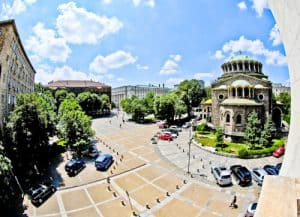 Sofia Balkan Hotel - Bulgaria - a room with a view of Cathedral Church