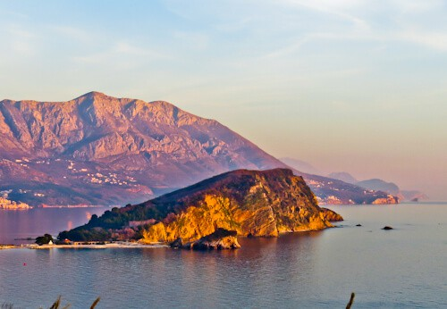 Budva Montenegro - Sveti Nikola Island