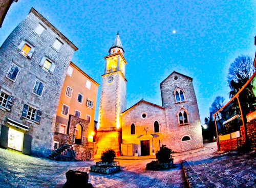 Budva Montenegro - Saint Ivan Church