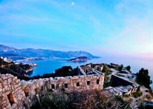 Budva Montenegro - Mogren Fortress