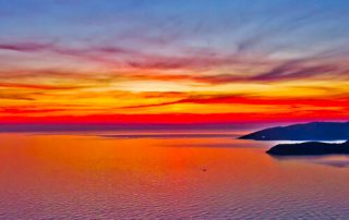 Budva Montenegro - Sunset