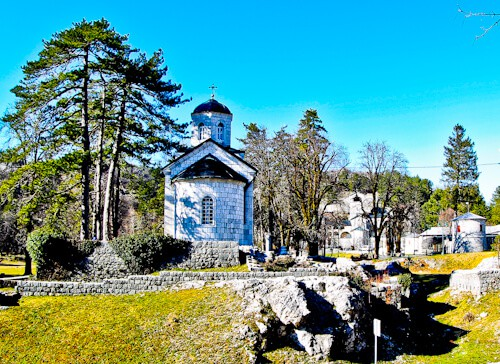 Cetinje Montenegro - Vlas Church