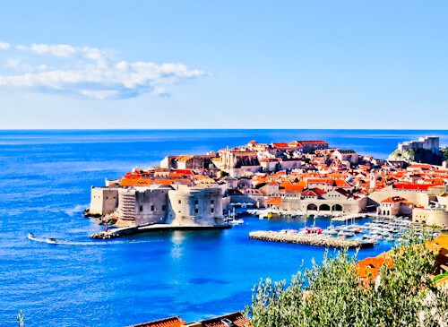 Dubrovnik Croatia - Things to do in the UNESCO city - Panoramic View