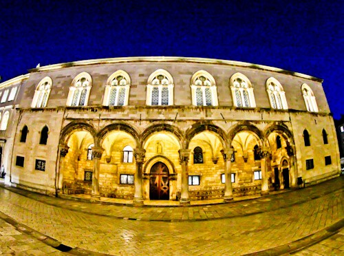 Dubrovnik Croatia - Things to do in the UNESCO city - Rector's Palace