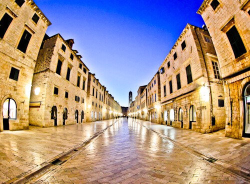 Dubrovnik Croatia - Things to do in the UNESCO city - Stradun