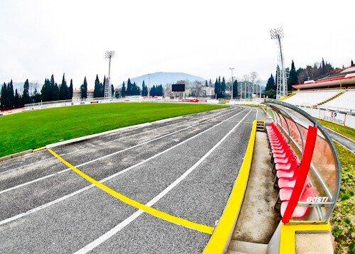 HSK Zrinjski Mostar - Bijeli Brijeg Stadium Tour - Pitch Side