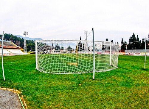 HSK Zrinjski Mostar - Bijeli Brijeg Stadium Tour - Behind the Goalmouth