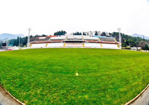 HSK Zrinjski Mostar - Bijeli Brijeg Stadium Tour - Main Stand
