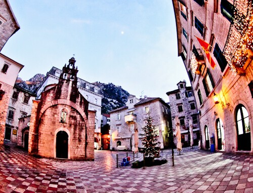 Kotor - UNESCO region - Old Town