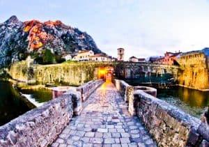 Kotor - UNESCO region - City Gates