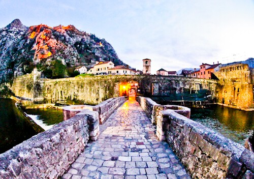 Kotor - UNESCO region - City Gates