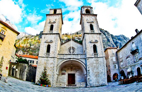 Kotor - UNESCO region - Kotor Cathedral