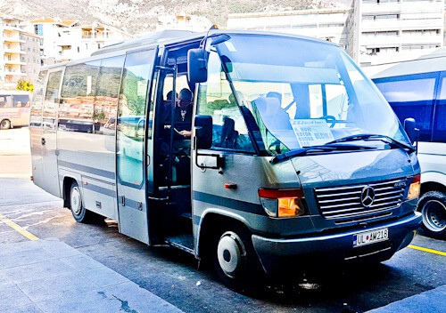 Kotor - UNESCO region - bus from Kotor to Budva