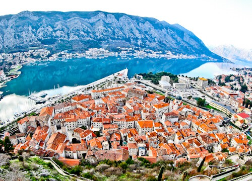 Kotor - UNESCO region - Panoramic