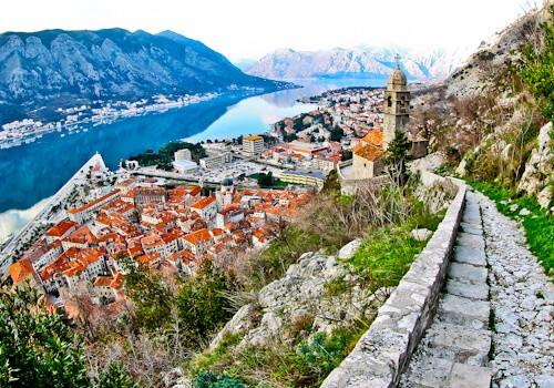Kotor - UNESCO region - Old Town Road