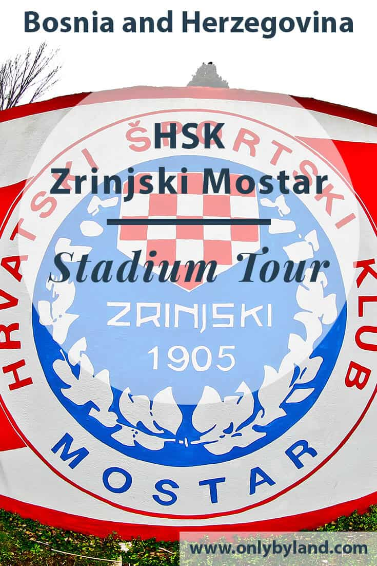 HSK Zrinjski Mostar – Bijeli Brijeg Stadium Tour