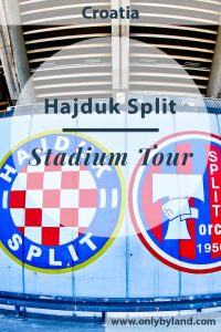 Hajduk Split - Museum and Stadium Tour.