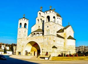 Podgorica Montenegro - Cathedral of the Resurrection of Christ
