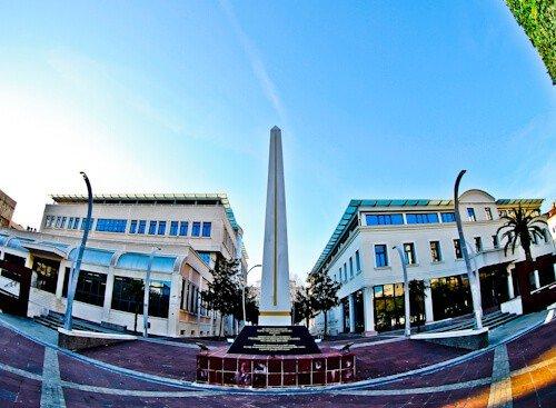 Podgorica Montenegro - Independence Square
